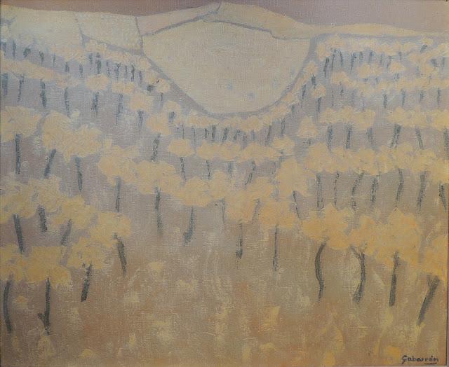 Cristóbal Gabarrón arte cuadro abstracto naturaleza