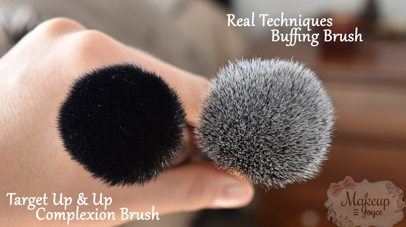 real techniques buffing brush