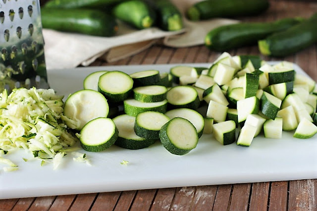How to Cut Zucchini for Freezing Image