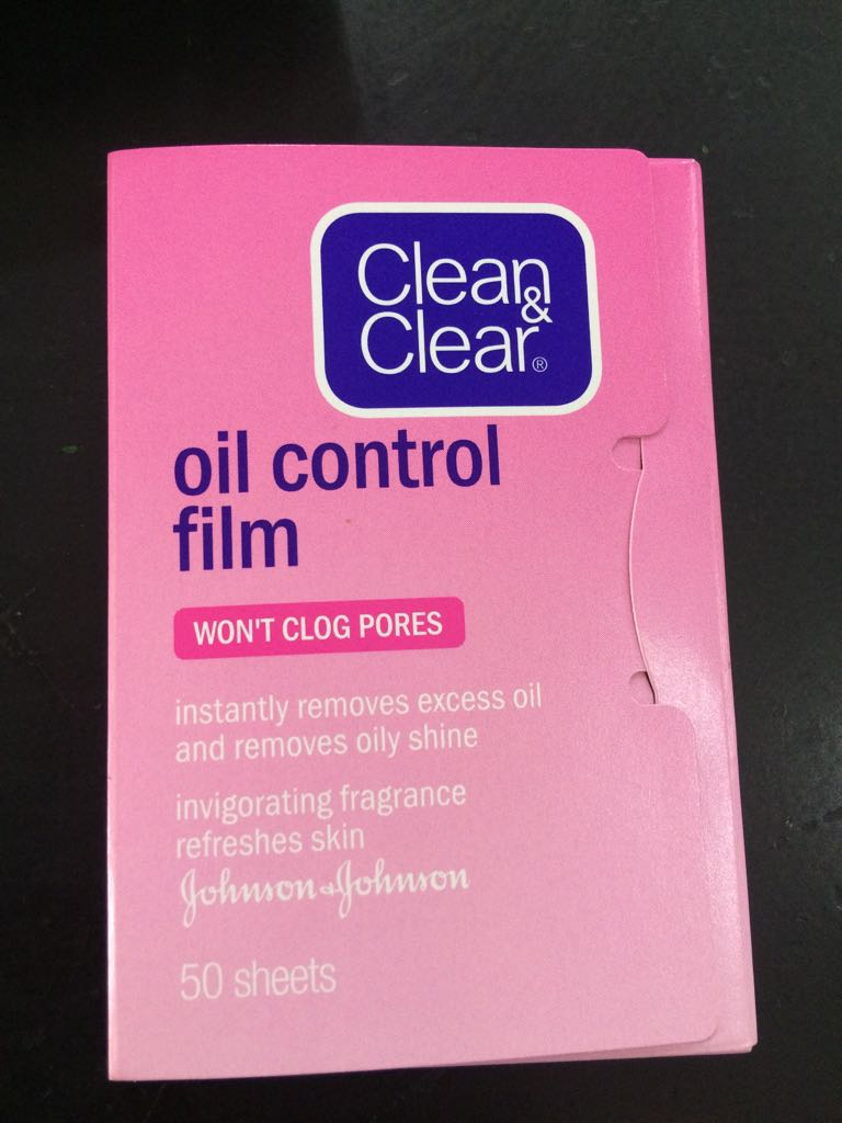 Review Clean And Clear Oil Control Film Pink Diary Si Pecinta