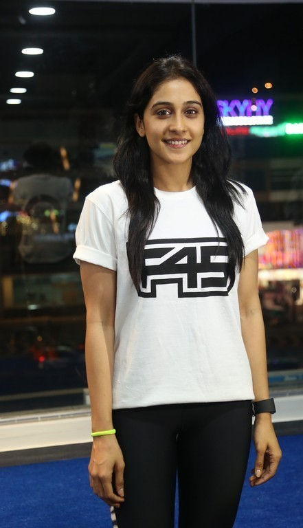 Regina Cassandra F45 Fitness Gym launch Photos