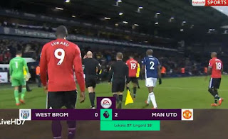 HT: West Brom vs Manchester United 0-2 plus Video Gol