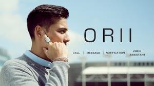 """"""" أوري - ORII """" خاتم ذكي جديد يحول أصبعك الى سماعة بلوتوث"""