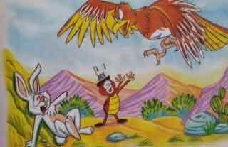 Esopo lecturas: El águila y el escarabajo