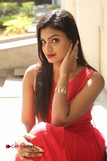 Telugu Actress Anusha Stills at Dhyavudaa Movie Teaser Launch  0039.JPG