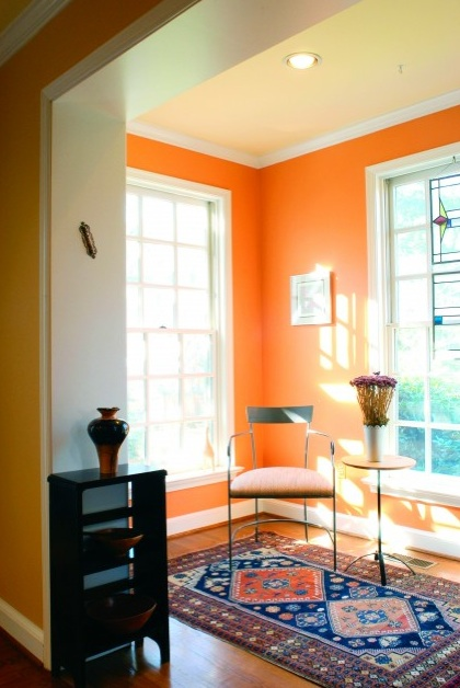 The Design House Interior Design Trend Of 2012 Orange