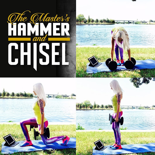 The Master's Hammer and Chisel ON SALE NOW