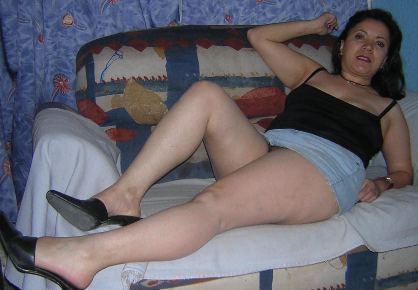 Señora masturbandose