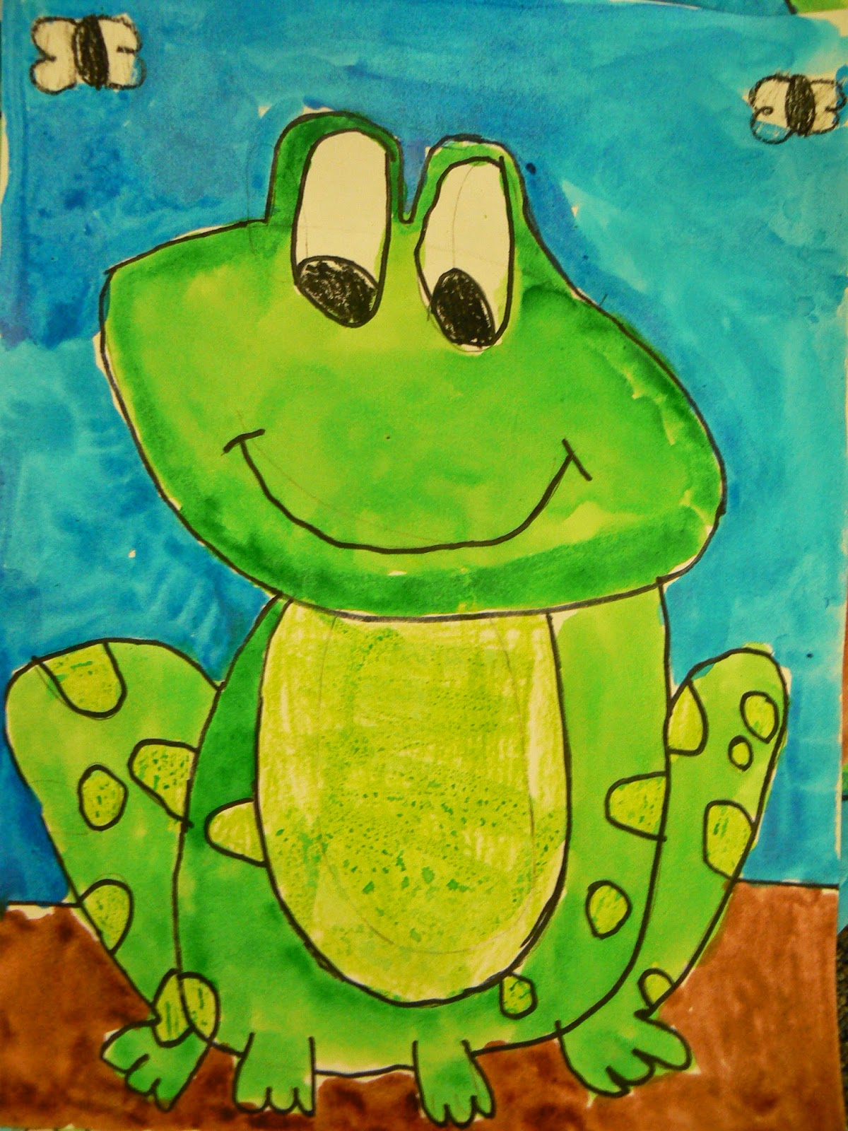 Mrs T S First Grade Class Frog Facts In Story Form On