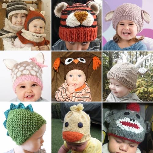 Animal Hat Knitting Patterns