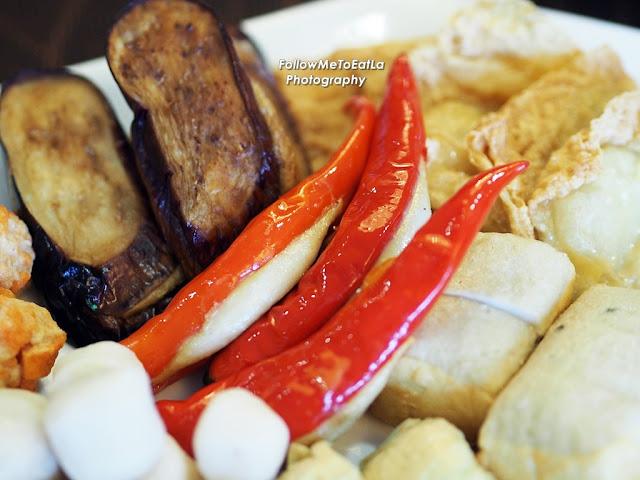 Stuffed Chilli With Fish Paste