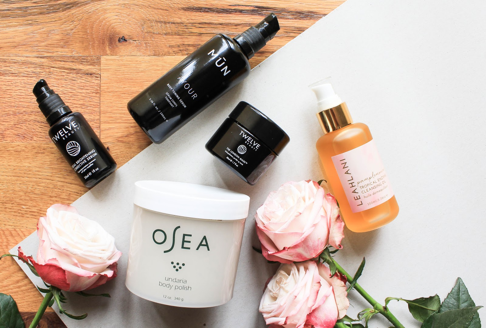 Current Favourite Products featuring Twelve Beauty from Boxwalla, OSEA from Beauty Heroes, Leahlani, Mun Skin.