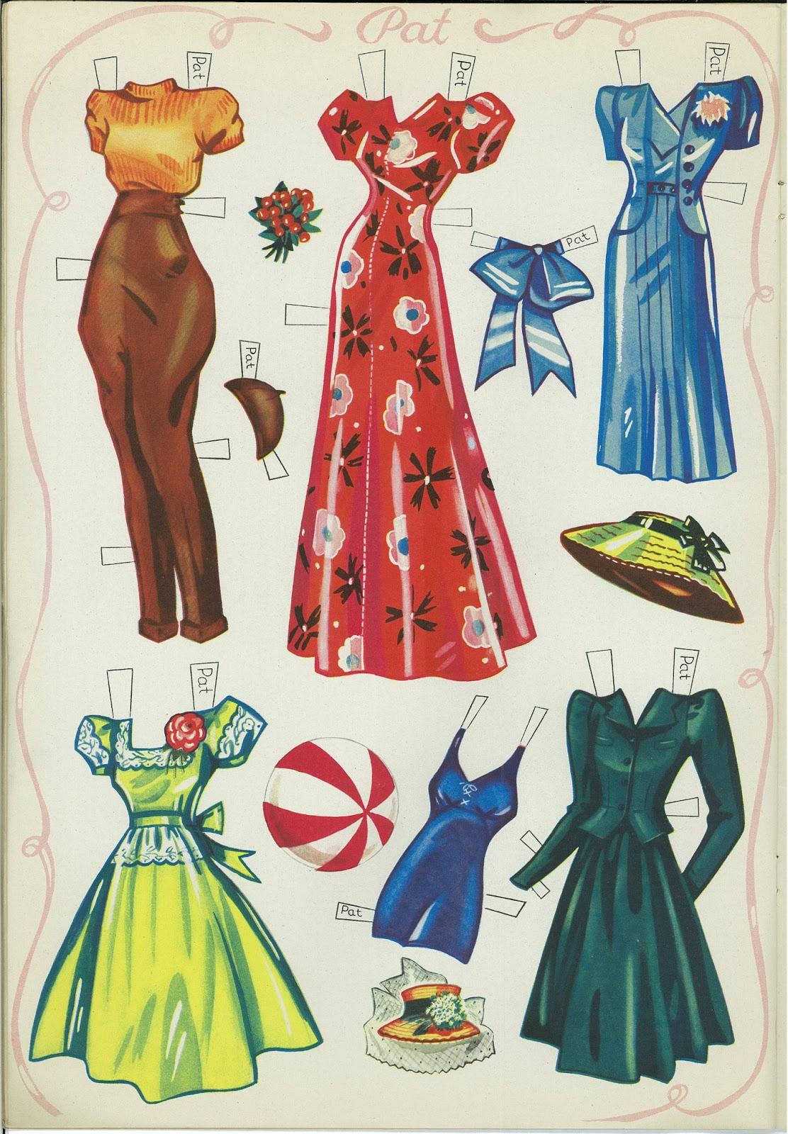 Miss Missy Paper Dolls: Paper dolls on Parade