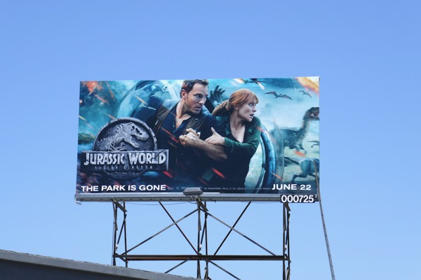 Jurassic World Fallen Kingdom film ad