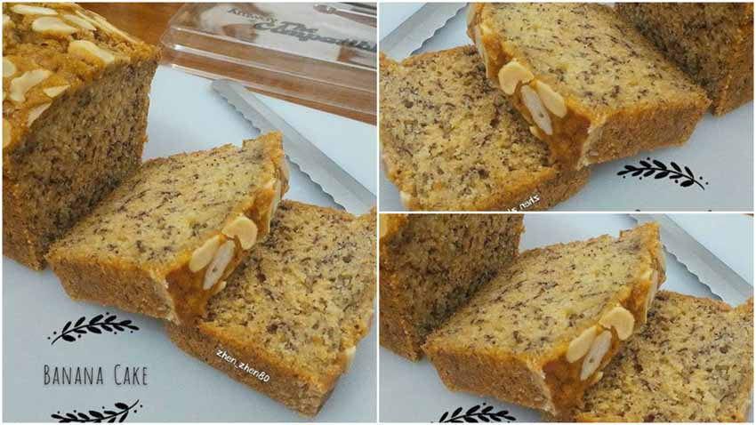 Resep Kue Bolu Pisang Super Moist dan Delicious