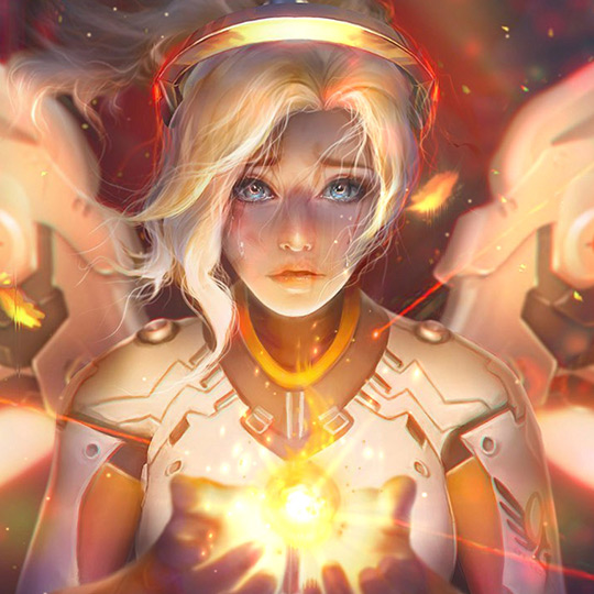 Mercy Glow  Wallpaper Engine