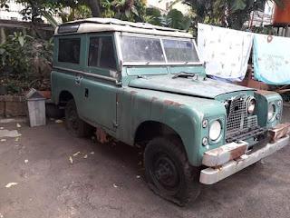 Dijual Bahan Mobil Tua Landy 1959