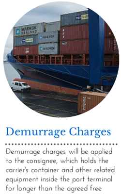 Demurrage Charges: Demurrage Charges Will Be Applied To The Consignee Of  The Container When The Consignee Holds The Carrieru0027s Container And Other  Related ...