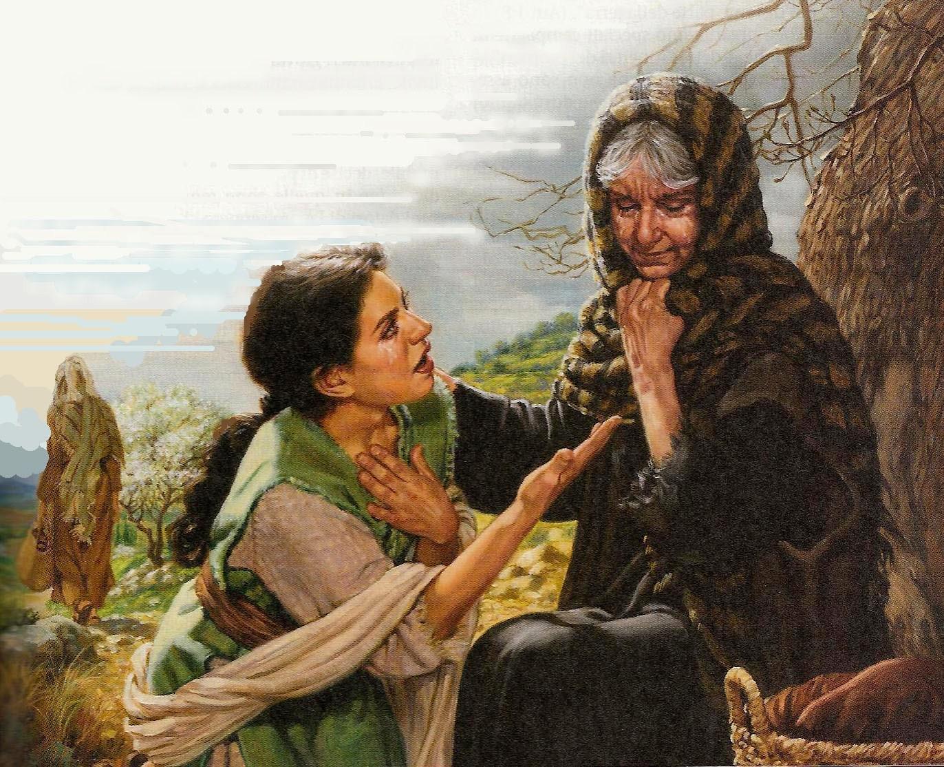 Resultado de imagen de imagenes de rut biblia catolica