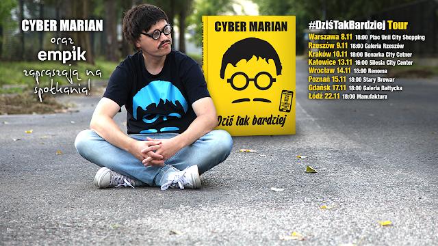 Cyber Marian rusza w trasę. Odwiedzi 8 polskich miast!