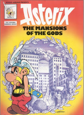 Download free ebook Asterix The Mansions of the Gods - Album 17 pdf