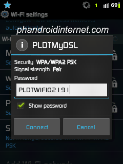 how to hack wifi password without any app on android
