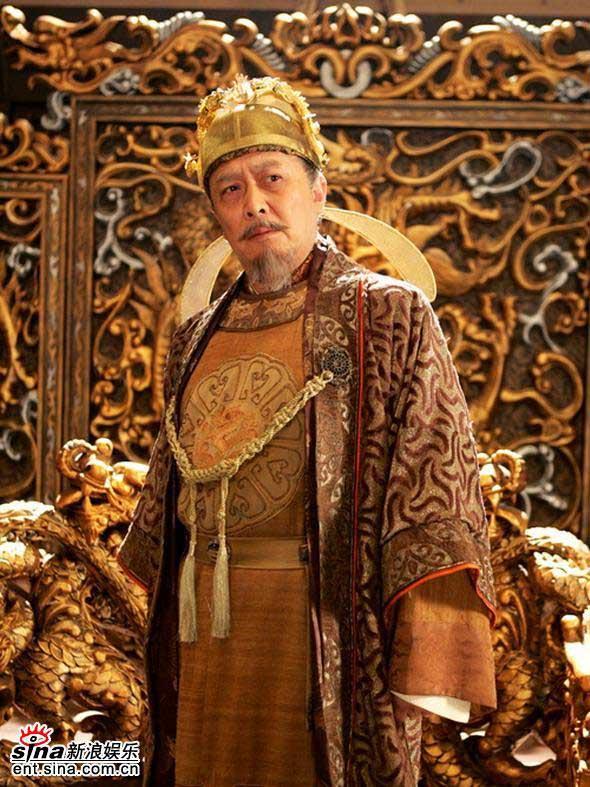 ถังไท่จง จากละครโทรทัศน์เรื่อง Zhen Guan Chang Ge (贞观长歌)