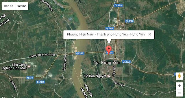Vị trí khu đô thị Phúc Hưng Complex