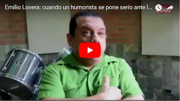 Emilio Lovera ya no hará shows en Venezuela