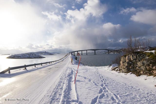 Puente de Kvaløya a Sommarøy - Tromso por El Guisante Verde Project