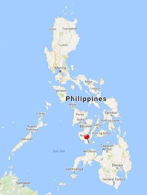 dumaguete island philippines location