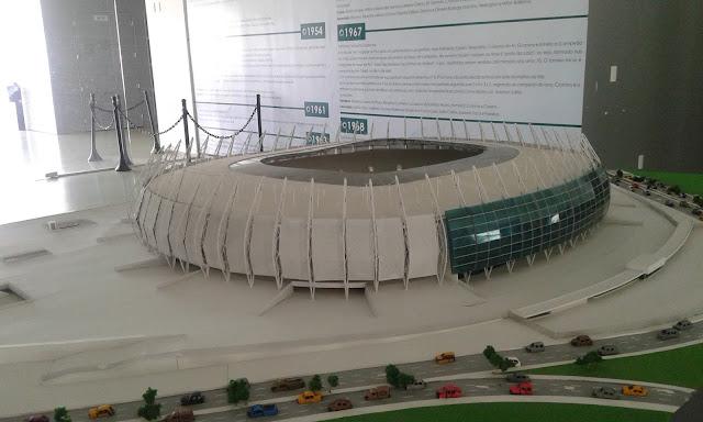 Maquete da Arena Castelão