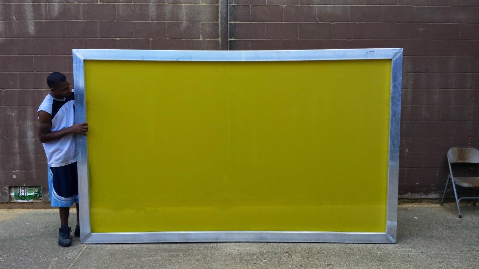 Sunbelt Manufacturing Company Custom Made Silk Screen Frame
