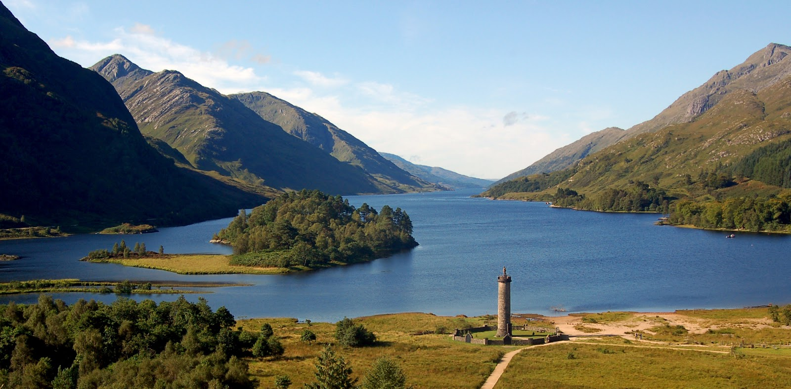 Visitor numbers are up at Scotland's Glenfinnan Monument ... |Glenfinnan Scotland