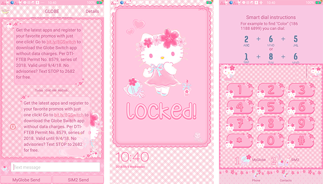 Oppo Theme: Hello Kitty Sakura Theme