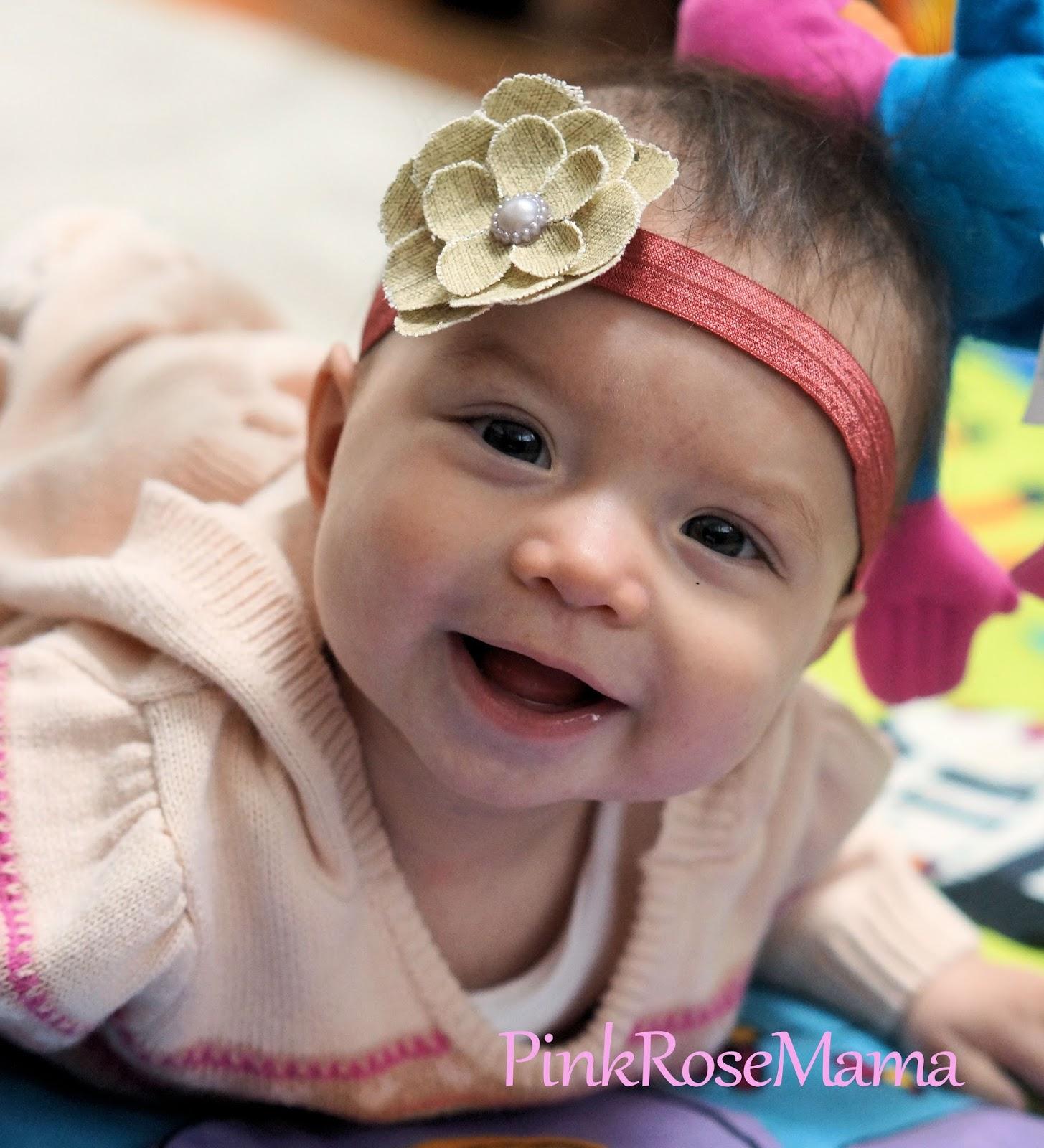 Pink Rose Mama: DIY Baby Headbands