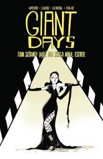 Giant Days tom 7 okładka albumu