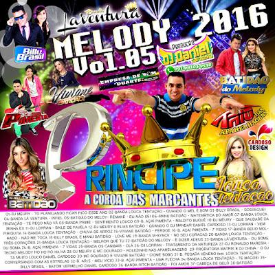 CD PRINCIPE DAS MARCANTES MELODY 2016 VOL.05