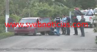 Balacera en Tihuatlan Veracruz este Miercoles deja un secuestrador abatido