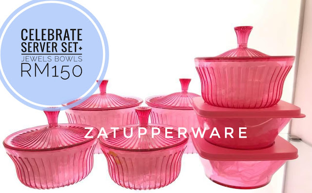 Tupperware Celebrate Server Set