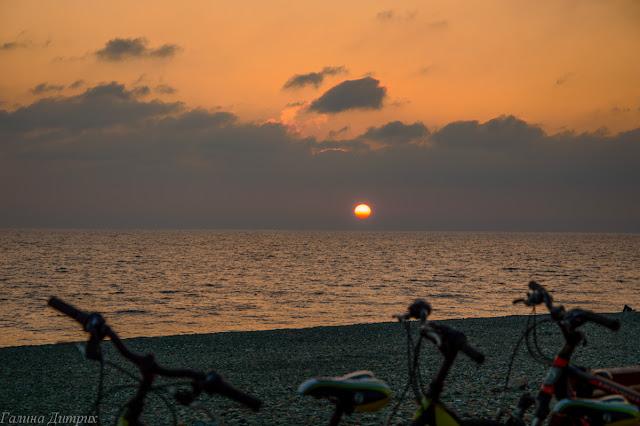 Черное море Адлер