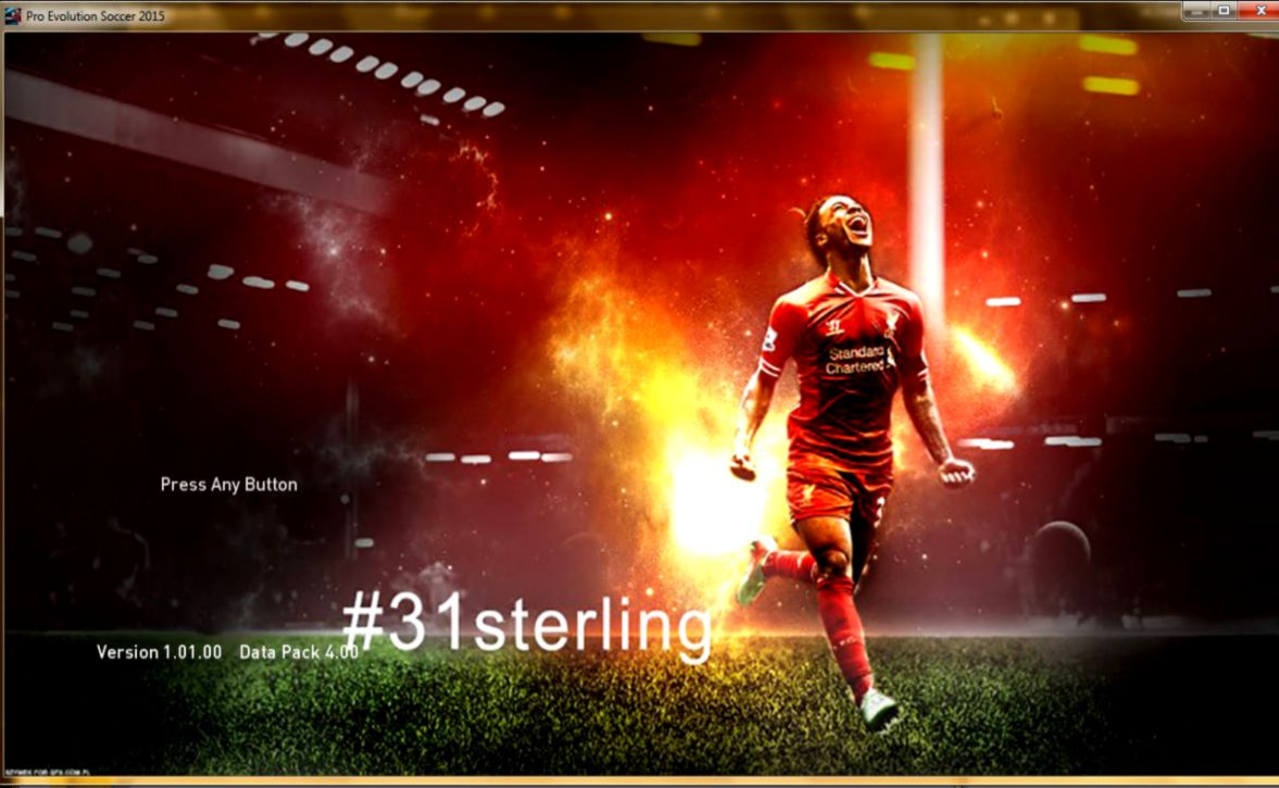 PES 2015 Top Players HD StartScreen Pack V300 By