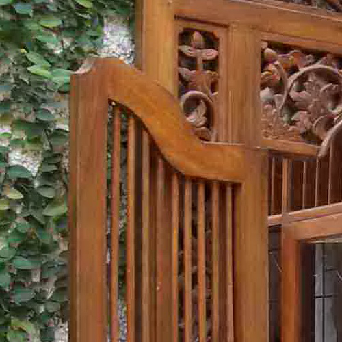 Gebyok carvings typical Java has more utility as contemporary wooden windows