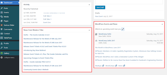 How to Disable or Hide WordPress Dashboard Widgets?