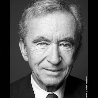 Bernard Arnault  is now the 5th richest person in the world.