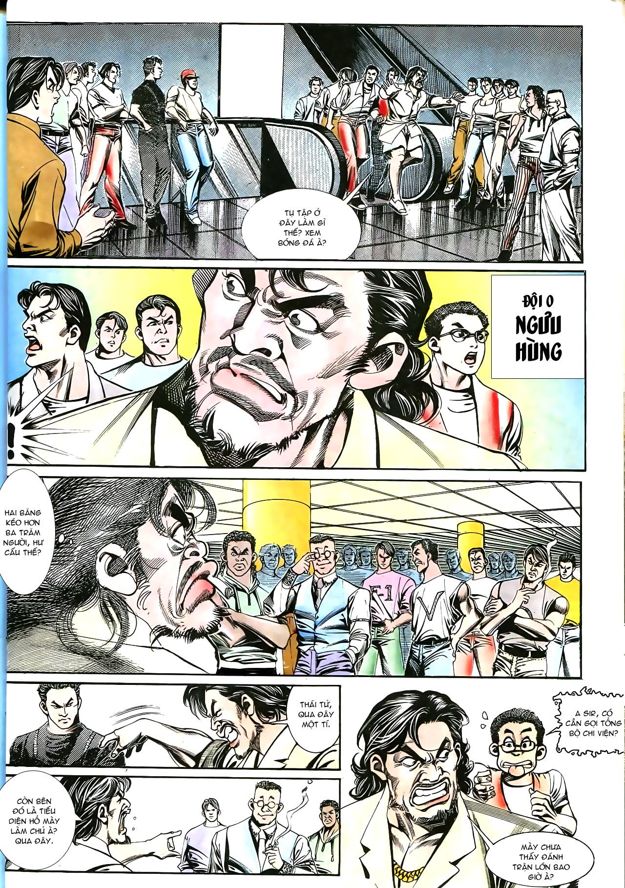 Người Trong Giang Hồ chapter 176: lật thua thành thắng trang 23