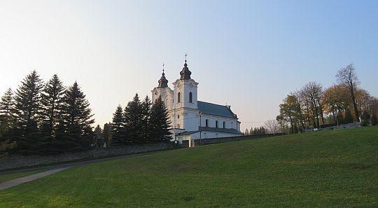 Kościół i klasztor OO. Bernardynów w Dukli.