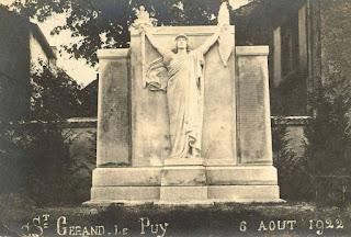 CPA monuments aux Morts de l'Allier, saint Gérand le Puy