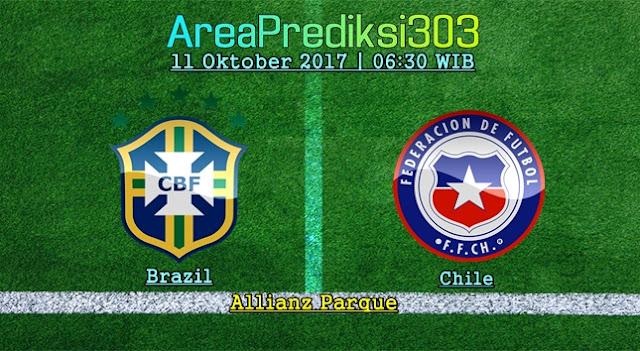 Prediksi Skor Brazil vs Chili 11 Oktober 2017