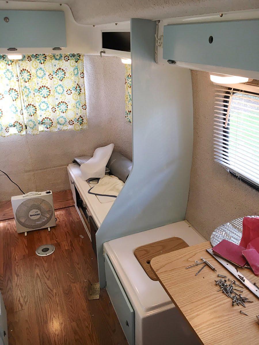 Casita Travel Trailer Interior Remodel Cool Stuff For